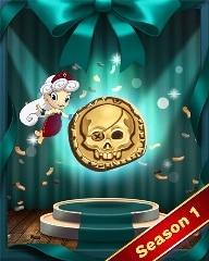 Pirate Bounty Badge - Solitaire Blitz