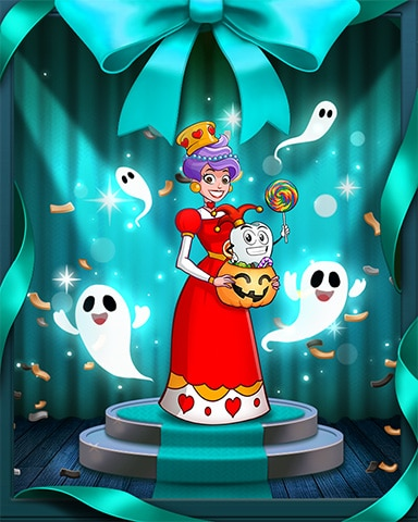 Spooktacular Showcase Badge - Sweet Tooth Town