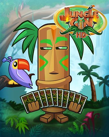 Tiki At Work Badge - Jungle Gin HD