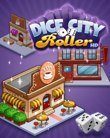 City Coffee Shop Badge - Dice City Roller HD