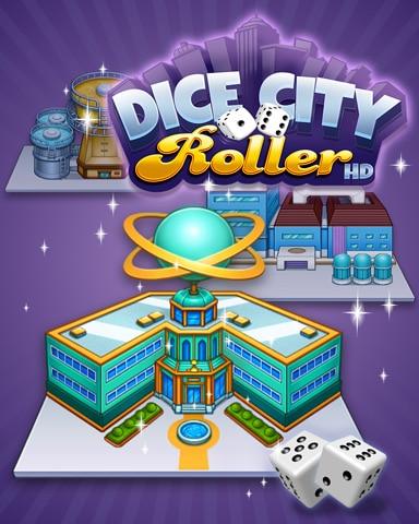 City Factory Badge - Dice City Roller HD