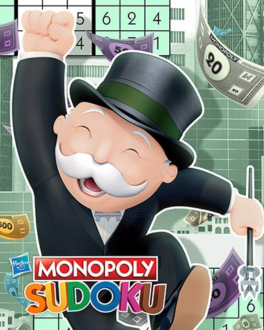 Making Big Money Badge - MONOPOLY Sudoku