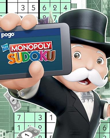 MONOPOLY Sudoku Anywhere Badge - MONOPOLY Sudoku