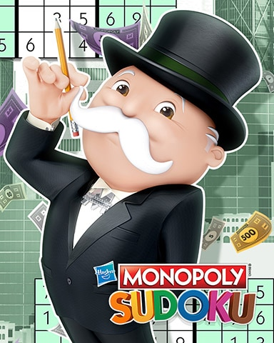 Penciling It In Badge - MONOPOLY Sudoku