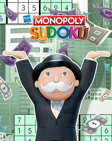 Sharing The Wealth Badge - MONOPOLY Sudoku