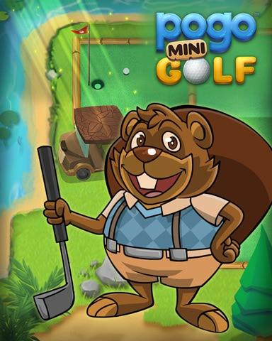 Golf With Matt Badge - Pogo Mini Golf
