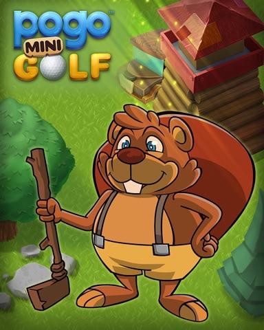Golf With Matty Badge - Pogo Mini Golf