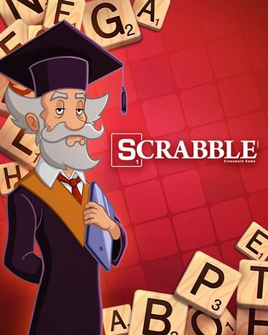 Meet The Professor Badge - SCRABBLE