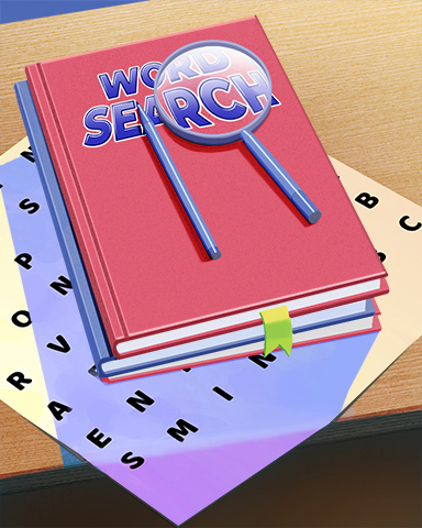 Wise Word Searcher Badge - Word Search Daily HD