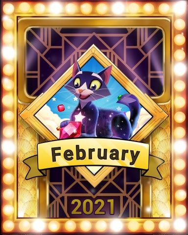 Pogo February Frolic Victory Badge