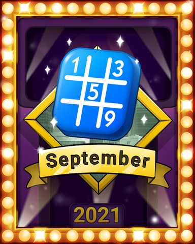 Number Navigators, Lap 2 Badge - MONOPOLY Sudoku