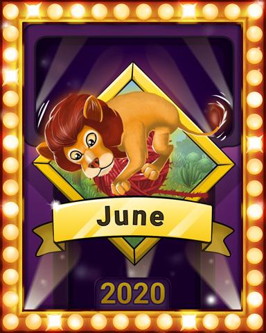 June Jaunt Lap 3 Badge - Mahjong Sanctuary