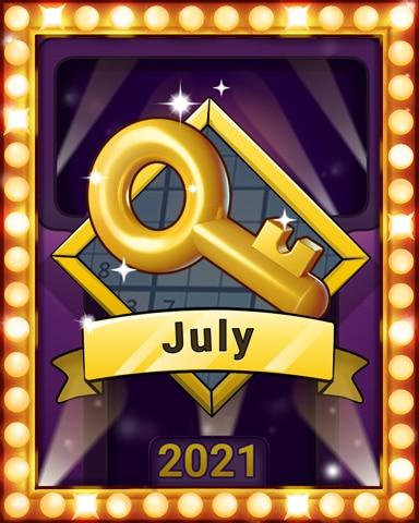 Sudoku Summer Lap 1 Badge - Pogo Daily Sudoku