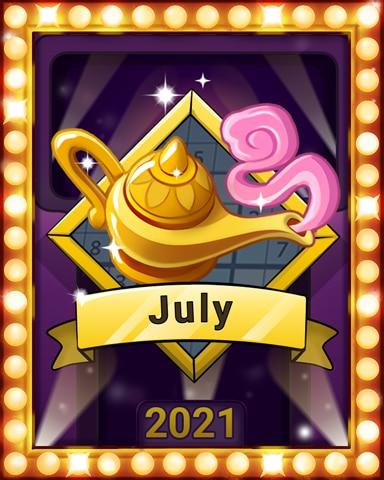 Sudoku Summer Lap 2 Badge - Pogo Daily Sudoku
