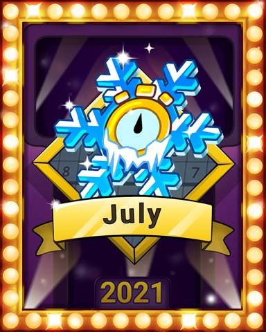 Sudoku Summer Lap 4 Badge - Pogo Daily Sudoku
