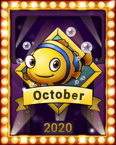 October Blitz Lap 2 Badge - Solitaire Blitz