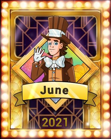 Pogo Sweet, Sweet June Victory Badge