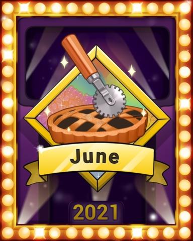 Sweet, Sweet June Lap 2 Badge - Sweet Tooth Town