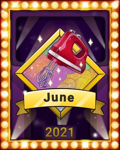 Sweet, Sweet June Lap 4 Badge - Sweet Tooth Town