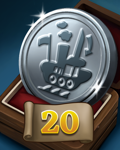 Errand Ensign Badge - Thousand Island Solitaire HD