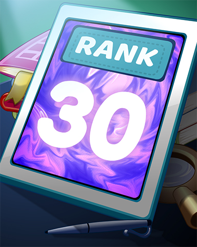 Rank 30 Badge - Word Search Daily HD
