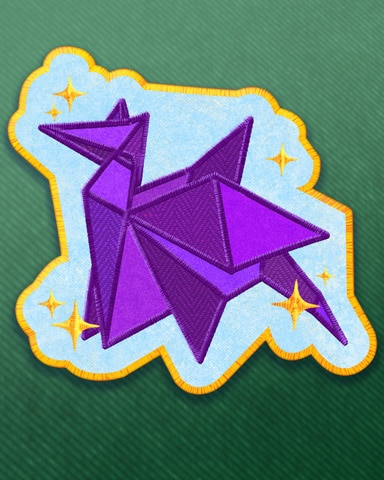 Pogo Outstanding Origamist Badge