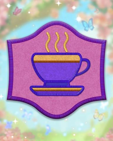 Violet Etiquette Badge - Pogo Daily Sudoku