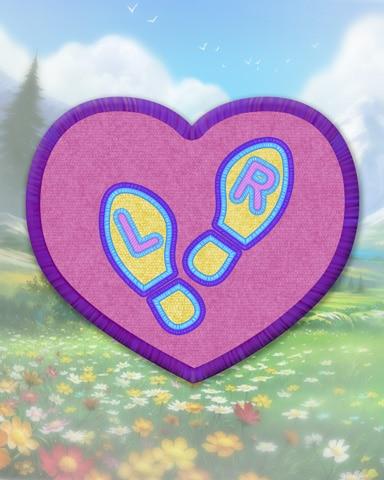 Violet Dancing Badge - StoryQuest