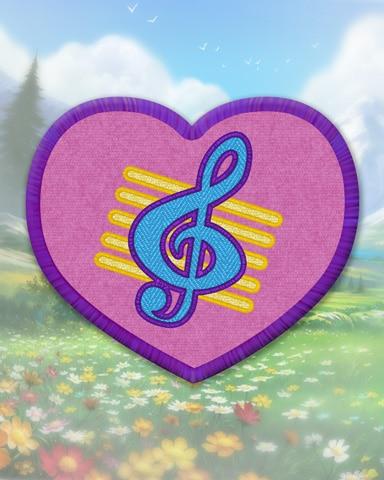 Violet Guitar Badge - Phlinx II