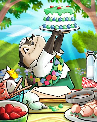 Best Baker Badge - Mahjong Garden HD
