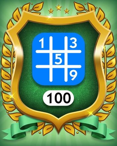 Beginner 100 Badge - MONOPOLY Sudoku