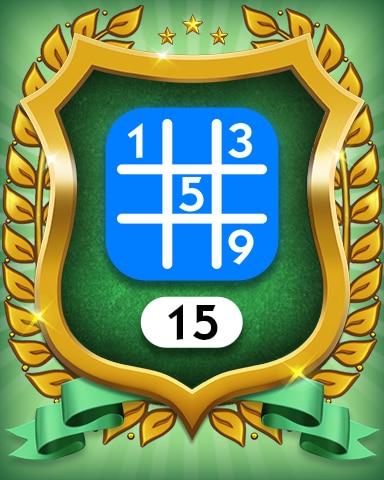 Beginner 15 Badge - MONOPOLY Sudoku