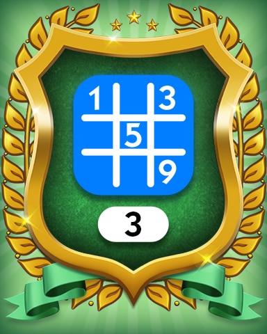 Beginner 3 Badge - MONOPOLY Sudoku
