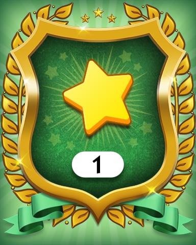 Stars 1 Badge - MONOPOLY Sudoku