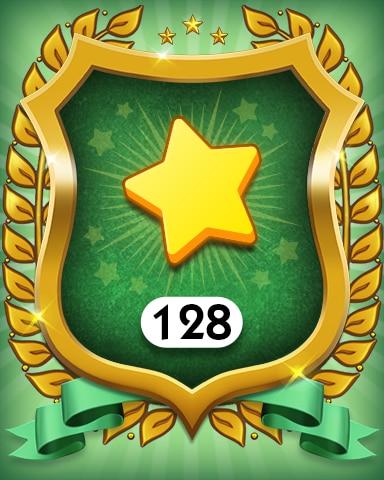 Stars 128 Badge - MONOPOLY Sudoku