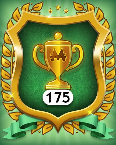 Trophies 175 Badge - MONOPOLY Sudoku