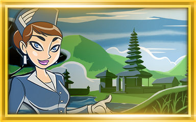 Bali Extended Stay Coach Badge - Jet Set Solitaire