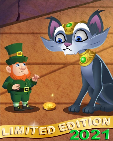 2021 St. Patrick Day Limited Edition Badge - Pogo™ Slots