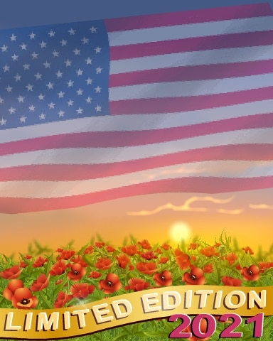 2021 Memorial Day Limited Edition Badge - World Class Solitaire HD
