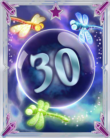 Magic Dragonfly 30 Badge - Mahjong Escape