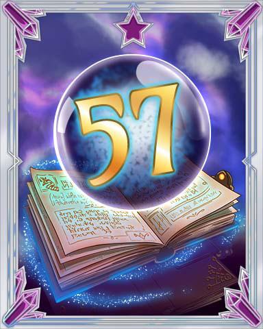 Spellbook Vol. 57 Badge - TRIVIAL PURSUIT Daily 20