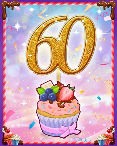 Vanilla Cupcake #60 Badge - Sweet Tooth Town