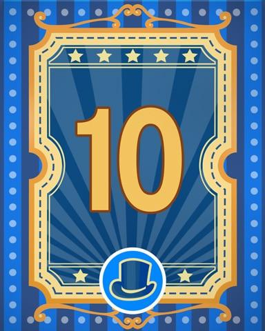 Spike's Showcase 10 Badge - Bejeweled Stars