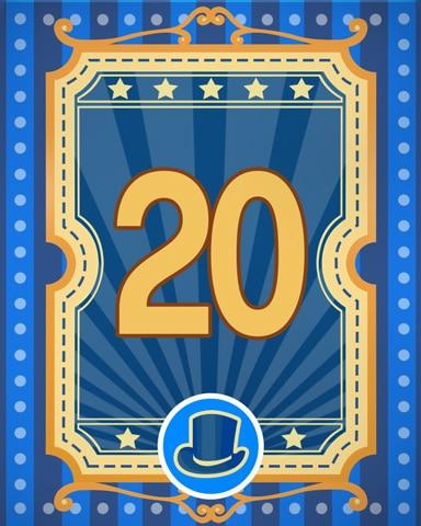 Spike's Showcase 20 Badge - Quinn's Aquarium