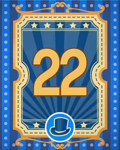 Spike's Showcase 22 Badge - Pogo™ Slots