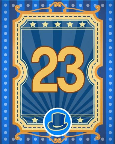Spike's Showcase 23 Badge - Pogo™ Slots