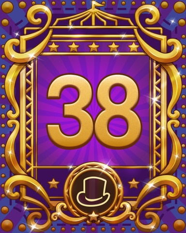 Spike's Spectacular 38 Badge - First Class Solitaire HD
