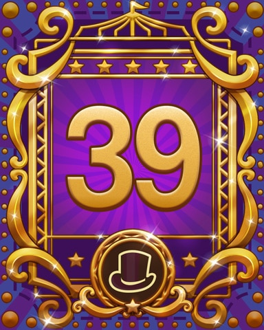 Spike's Spectacular 39 Badge - First Class Solitaire HD