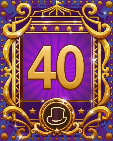 Spike's Spectacular 40 Badge - Trizzle
