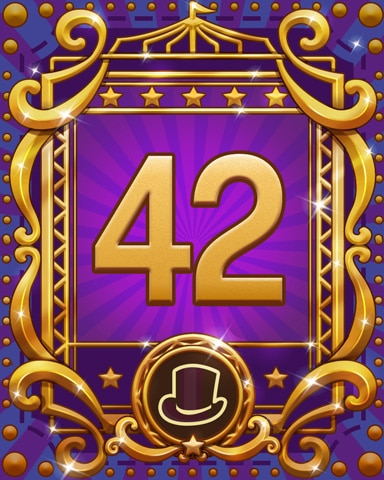 Spike's Spectacular 42 Badge - Trizzle